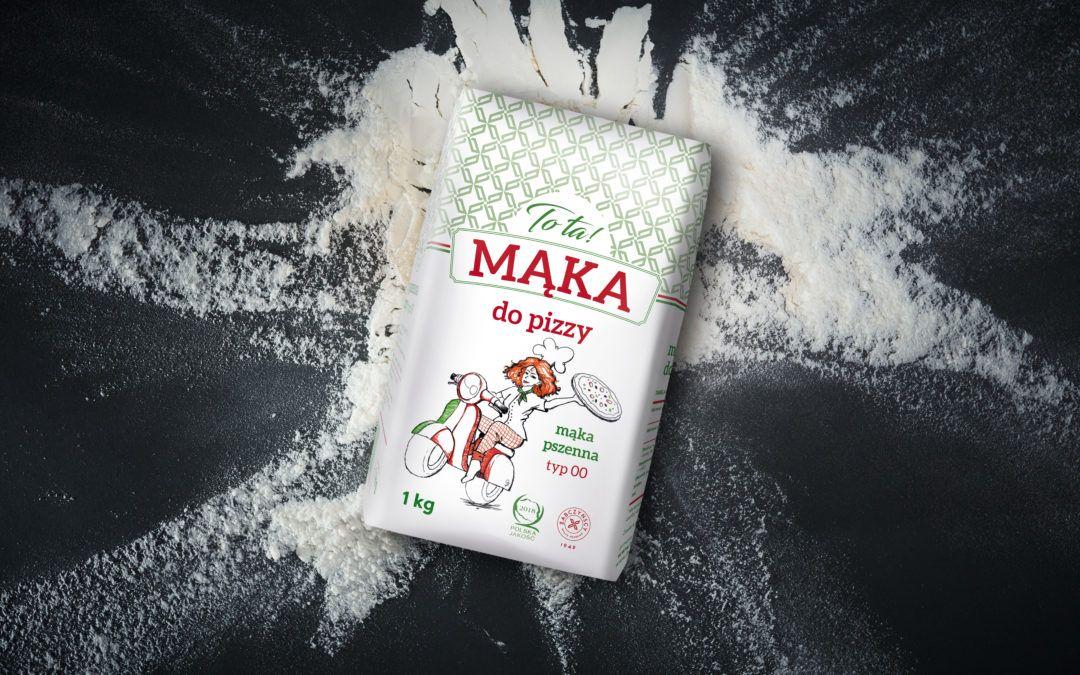 TO TA mąka pszenna do pizzy typ 00 w mniejszym opakowaniu !